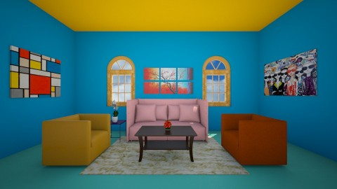 Colors - Living room - by Aliiix