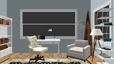 blueswhiteoffice - Minimal - Office - by vintageIndie