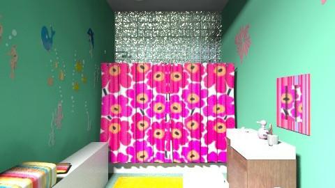 Modern Kid Bathroom - Glamour - Kids room - by Narcisse94