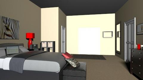 Classy Bedroom - Modern - Bedroom - by mariah415