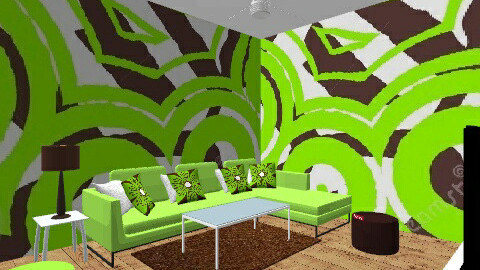 Cocoa and Lime Hangout - Modern - Living room - by KennaRee