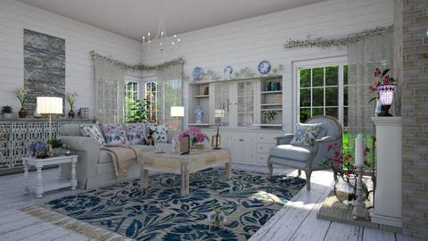 Shabby Chic LR 2 - Living room - by  krc60