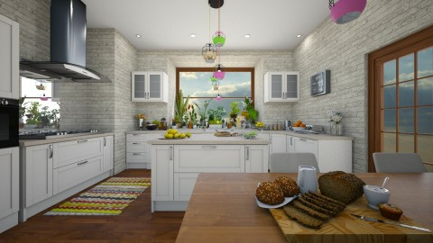 Kitchen 2 - Modern - Kitchen - by camilla_saurus