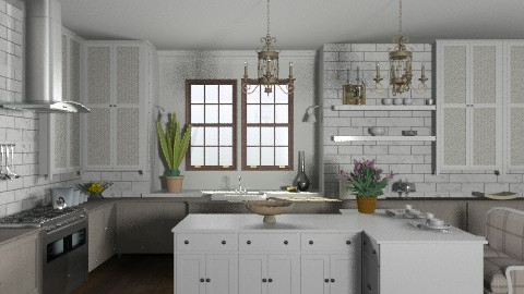 Random Spaces - Classy Kitchen - Classic - Kitchen - by LizyD