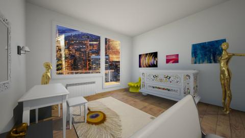 room C 1 - Bedroom - by tzwetelina_gitewa