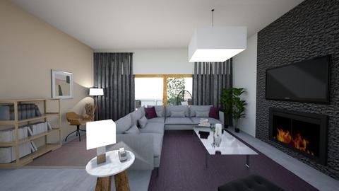 elenas living room - Living room - by Maria Kyrioti