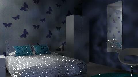 flutter - Bedroom - by bubblebunny