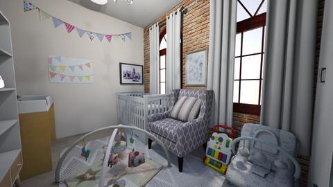 Sweet Nursery - Feminine - Kids room - by d3spaci7o