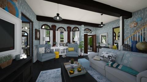 Modern Shutter - Living room - by SimonRoshana