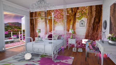 flowers room - Bedroom - by soralobo