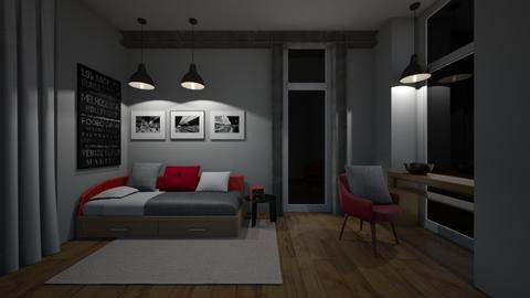 Small Bedroom 12 - Modern - Bedroom - by XiraFizade