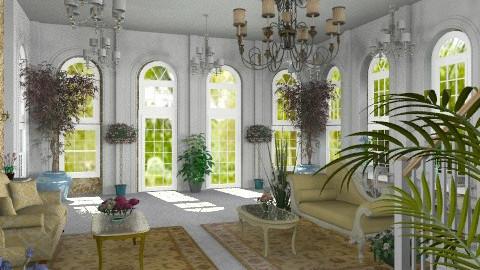 Sitting Room - Classic - Hallway - by Bibiche