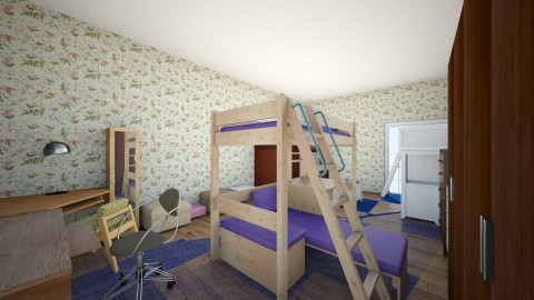 amazing 3 bedroom bed - Bedroom - by TaisiBird