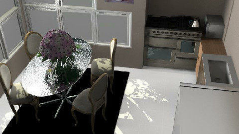 Kitchen1 - Dining Room - by Nat11