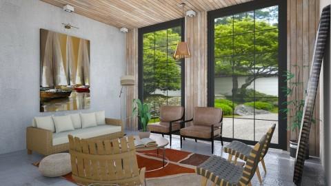 Living Room - Living room - by cervidaeus