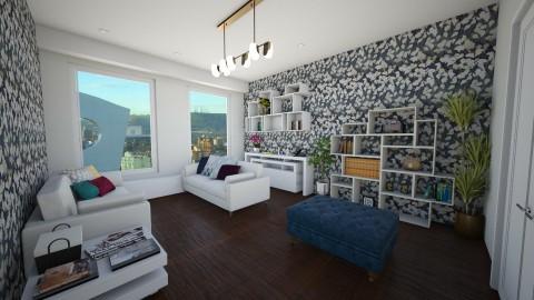 modern living room - Living room - by beatrizrauta