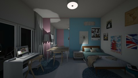 my real bedroom - by nguyenlinh2005