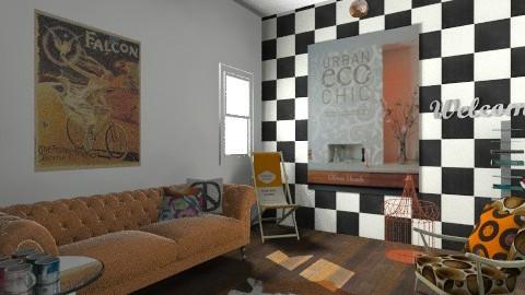 retro - Retro - Living room - by bethany81