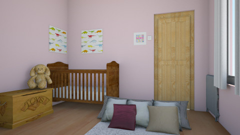 Baby room 1 - Country - Kids room - by Aude Rosewalker