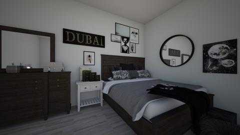 nuetral bedroom - Bedroom - by nlm415
