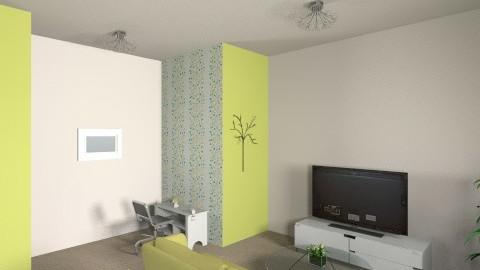Modern Green - Modern - Living room - by Blue Berry