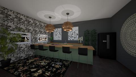 _Urban Jungle Kitchen - Kitchen - by noorjuliavanwalree