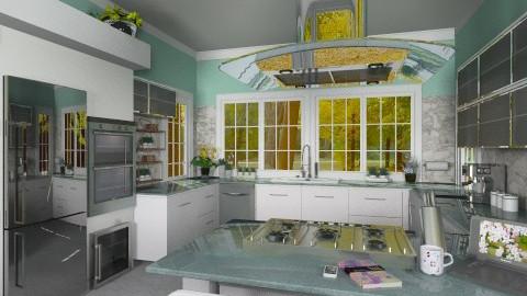 Modern Kitchen - Modern - Kitchen - by Bibiche