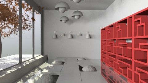 project 1 layout2 showroom - Modern - Office - by monicasabile