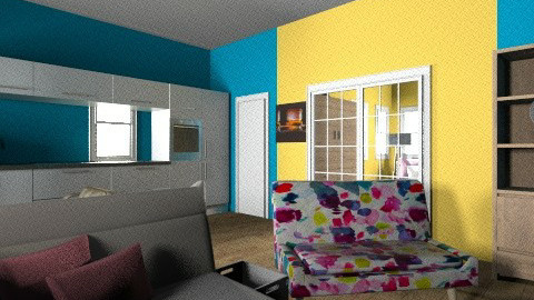small house - Eclectic - Living room - by hunter313