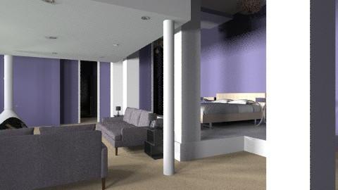 Master Bedroom - Modern - Bedroom - by aubriella