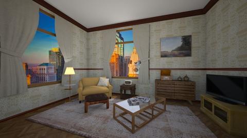 Cosmo y Rose - Retro - Living room - by Elenn