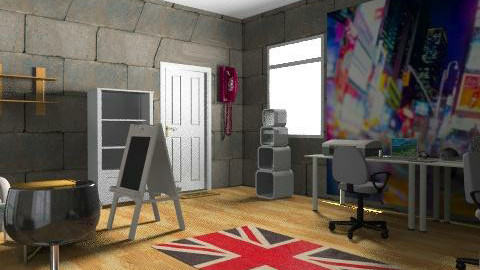 The Studio  - Retro - Office - by Campbell32