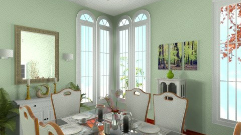 Dining Room - Dining room - by naturalbeauty