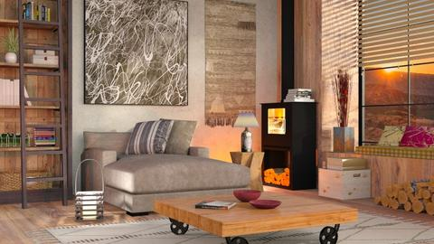 Canyon Inspired - Eclectic - Living room - by Sally Simpson