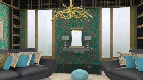 golden balls - Glamour - Living room - by trees designs