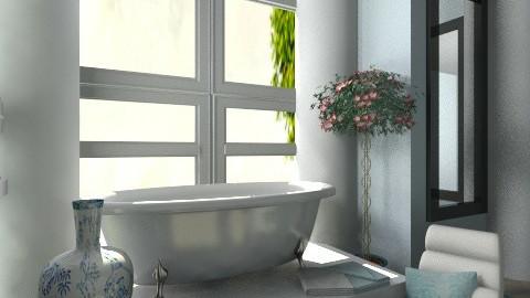 Relaxing. - Minimal - Bathroom - by Phoebe Ficer