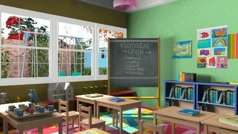 Little Skool - Modern - Kids room - by chloedaniella