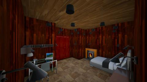 my room - Bedroom - by levi morrill