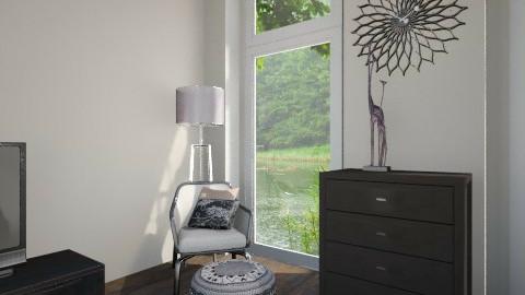 BlackWood bedroom.... - Modern - Bedroom - by Varsha Liston