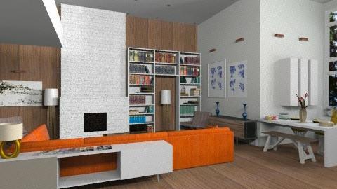 studio - Minimal - Living room - by whateffer