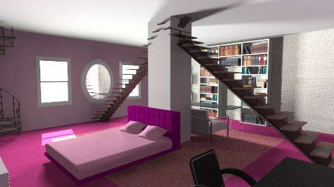 think in pink - Modern - Bedroom - by meganmarie