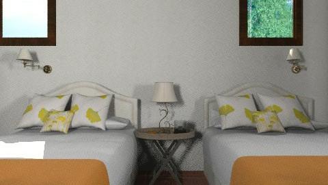 prueba 5 - Rustic - Bedroom - by susanita