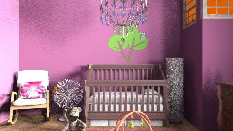 Baby Girl Nursery - Glamour - Kids room - by 1234ChAz