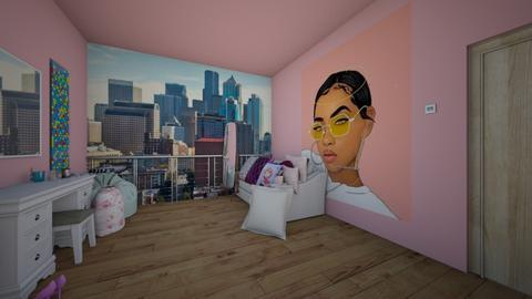 teen bedroom - Bedroom - by goldygi