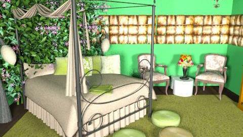 greeennnn1 - Vintage - Bedroom - by Cejovic Andrijana