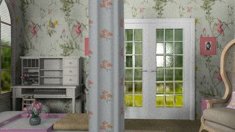 Princess Room - Country - Bedroom - by natural11