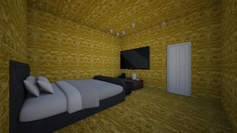 gold bedroom deal with it - Bathroom - by summer drift69
