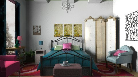 Colours - Eclectic - Bedroom - by milyca8
