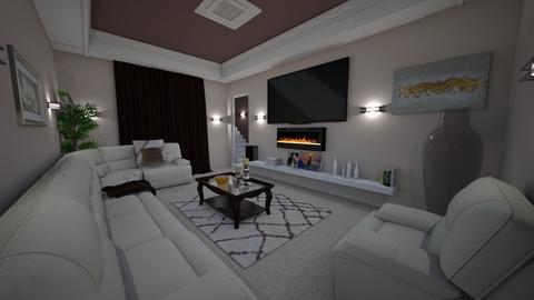 cinema - Living room - by tiffmonaee