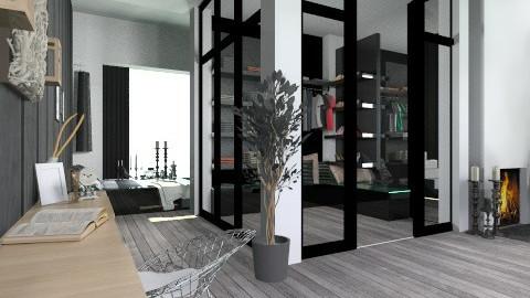 black_wardr_ - Modern - Bedroom - by StienAerts